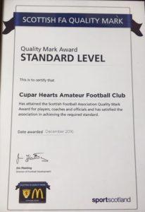 SFA QM Certificate